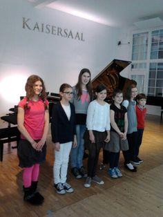 Klavierunterricht in Wien mit Erika Klavierkonzert