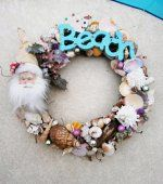 Check out LoveItSoMuch.com to discover unique products like CHRISTMAS SHELL WREATH - Beach/Santa Theme.