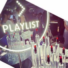 資生堂の新ブランド「PLAYLIST」発表会へ💄❤️❤️ * PLAYLISTとは・・・ 総勢40名の資生堂ヘア&メーキャップアーティストたちによる「…