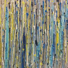 #acrylicpainting #art #mixedmedia #madebyme canvas art by Petra Pechova