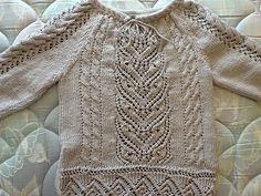 Ravelry: Ritzyknitz's Tiger and Snail Blouse