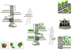 vertical gardening systems | Eco Gadgets: Aero-Tree aeroponic system encourages people to cultivate ...