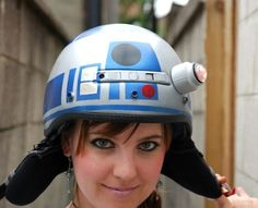 Jenn of Clever Girl Blog converted a simple helmet into Star Wars Bike Helmet using paint and quite simple techniques. Watch the images of amazing transformation of a helmet and follow the links for instructions on how to do it yourself at home.  Continue reading »