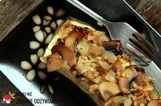 Wyśmienita cukinia z pieczarkami i kaszą gryczaną. Bardzo łatwy przepis na wyśmienite danie. Zdrowy przepis wegetariański. Zdrowe odżywianie.