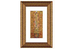 Gustav Klimt, Pattern Stoclet Frieze on OneKingsLane.com