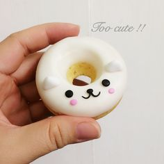 Cute character cakenut by Donut Drawing, Cute Donuts, Desert Table, Popsicles, Cupcakes, Display, Cookies, Creative, Desserts