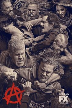 Sons Of Anarchy Poster 11x17 Mini Poster