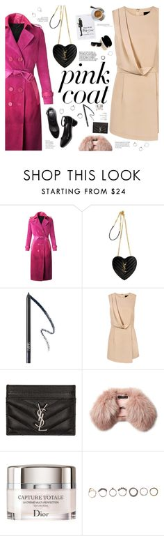 """Pinker"" by igedesubawa on Polyvore featuring Burberry, Yves Saint Laurent, NARS Cosmetics, Blaque Label, CO, Pierre Hardy, Steffen Schraut, Christian Dior, Iosselliani and Moratorium"
