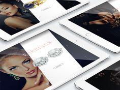 Mozafarian Jewelry Website by Gergely Bakos