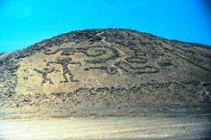 Geoglifos, Valle de Azapa, Atacama en el norte del pais.