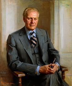 Official White House Portrait of Gerald Rudolph Ford - 38th President of the United States