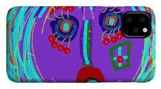 Lippy Girl Phone Case by Susan Fielder Art - IPhone 11 Case