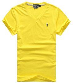 2015 little Horse brand New Men Cotton Mens Solid casual v-neck Short  Sleeve T Shirts 7444fd3edd9