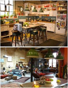 Set design from The Vow...I was so preoccupied by how awesome their apartment was I'm sure I missed a few lines