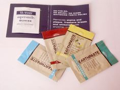 REDMONT TRADING COMPANY REVIEW : The #Lemon Twist, #Peppermint, #Wintergreen and #Cinnamon Earthpastes (more photos on the blog)
