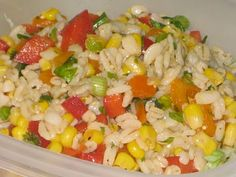 Mag-Pie's & more: Barley, Corn and Pepper Salad