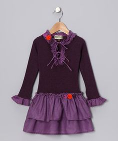 Take a look at this Amethyst Limouges Dress - Infant, Toddler & Girls by Sophie Catalou on #zulily today!