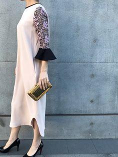 7db0bae95ae70 THEDRESS(THE DRESS) RODOのクラッチバッグを使ったコーディネート. mameのワンピース「mame( ...