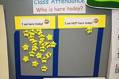 Attendance chart for kids who need a little more encouragement.  Check in before heading to class.