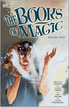 Books Of Magic Book One by John New Rieber. Illustrated by Gary Amaro and Peter Gross. Issues #1-13. #download #stream #digital #comic #fantasy #YA