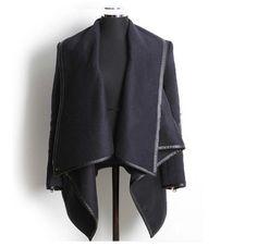 New Arrival Street  Long Sleeve   Overcoat