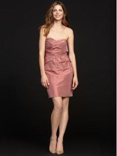 How about this for a bridesmaid dress?  Of course I would find one now.