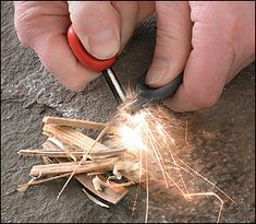 Always good for fire starting where needed.  Backyard, camping, inside when the electricity is off / fireplace area.