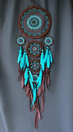 Dream catcher Dreamcatcher Dreamcatcher blue Boho style Dreamcatcher Gift Large Dreamcatcher dreamcatchers for wall nursery dreamcatcher Dream Catcher Nursery, Dream Catcher Art, Large Dream Catcher, Dreamcatchers, Selling Handmade Items, Native American Crafts, Boho Stil, Diy Holz, Native Art