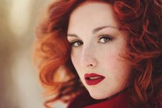 Beyond beauty, there are redheads