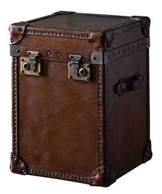 Steamer Trunk Side Table