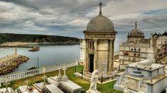 Cementario de Luarca Asturias