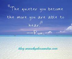 más reservado eres y más eres capaz de oir a los demás