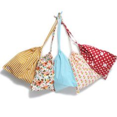 Lale GEO drawstring bags