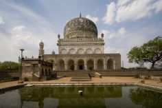 Qutb Shahi Tombs in Hyderabad are tombs put up in remembering of the rulers of Golconda.