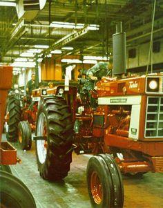 farmall plant 66 series line. coming off line