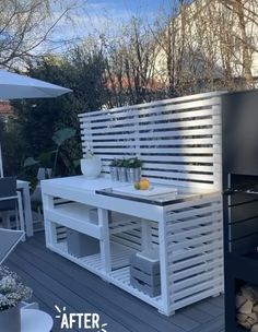 Outdoor Kitchen Patio, Outdoor Kitchen Cabinets, Outdoor Kitchen Design, Outdoor Rooms, Patio Design, Outdoor Living, Outdoor Decor, Outdoor Potting Bench, Outdoor Grill Station