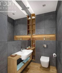 bathroom remodel wainscotting is categorically important for your home. Whether you pick the bathroom renovations or minor bathroom remodel, you will create the best remodel a bathroom for your own life. Bathroom Toilets, Wood Bathroom, Bathroom Layout, Bathroom Interior Design, White Bathroom, Modern Bathroom, Bathroom Ideas, Bathroom Niche, Bathroom Designs