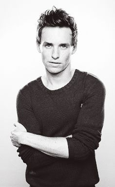 Eddie Redmayne- not really my type kinda nerdy but love his accent