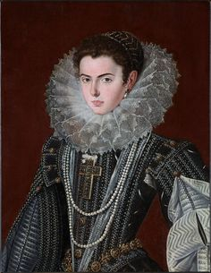 ab. 1608-1623 Bartolomé González y Serrano - Portrait of a Noblewoman