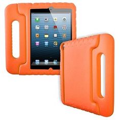 Kid proof your tablet! Ipad Mini Case Cover - Orange #childproof $16.95