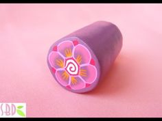Tropical Millifiore Flower Cane - over 600 FREE polymer clay tutorials at this website