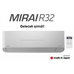 Toshiba Mirai RAS-10BKVG-TR Split klima İnverter A+ (YENİ)