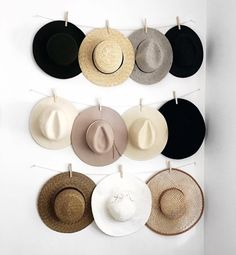 For those of you who need some hat rack ideas more than anyone, I believe you are in love with caps and hats. You must be one of those hats and caps collector o. Find and save ideas about Hat racks, Hat hanger, Diy hat rack in this article. Do It Yourself Quotes, Cowboy Hat Rack, Diy Hat Rack, Wall Hat Racks, Hat Storage, Storage Ideas, Hat Holder, Hat Organization, Organizing Hats
