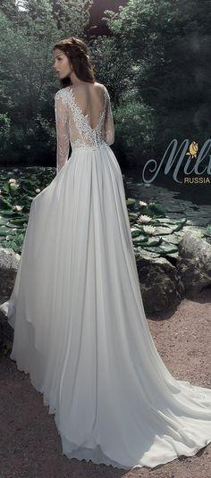 Milva Bridal Wedding Dresses 2017 Nice / http://www.deerpearlflowers.com/milva-wedding-dresses/4/