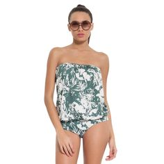 Botanical Collection: 3036/bot/09: One piece with removable cups. #swimwear  #summer #beauty #botanical