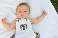 Made to Order Ruffle Sunsuit by applegatordesigns on Etsy