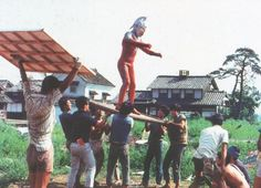 behind the scenes on Ultraseven