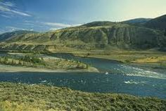 Fraser river and Cariboo gold rush