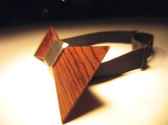 Bow Ties are cool! Wood Bow Tie In Time For Father's Day by WoodThumbTies on Etsy