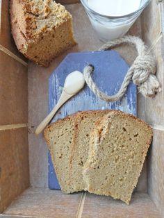Pain gâteau à la fleur d'oranger  ( Sans gluten, très peu sucré, très peu de matières grasses )